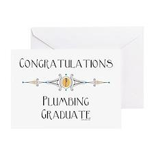 Plumbing Graduate (Blank) Greeting Card