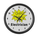 Ohm MIghty Large Wall Clock