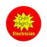 "Ohm MIghty 3.5"" Button"