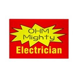 Ohm MIghty Rectangle Magnet (10 pack)