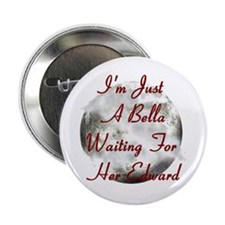 "Bella Waiting For Edward 2.25"" Button (10 pack)"