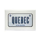 Quebec Rectangle Magnet (10 pack)