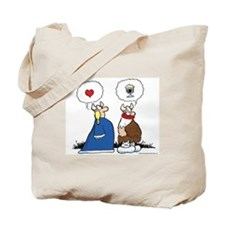 The Way to His Heart... Tote Bag