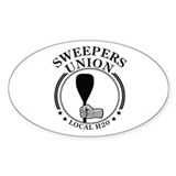 Sweepers Union Oval Decal
