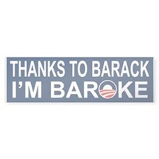 Baroke Bumper Sticker