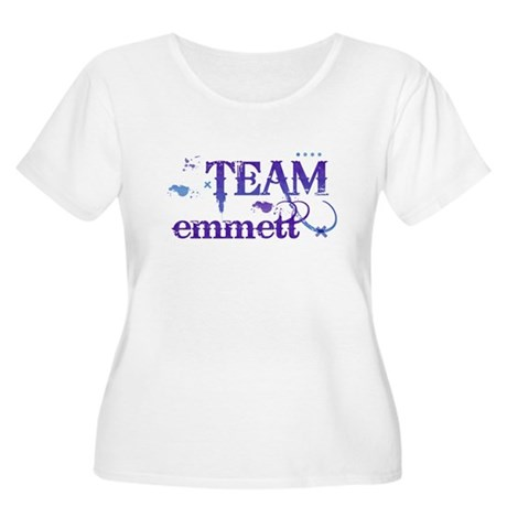 Team Emmett Women's Plus Size Scoop Neck T-Shirt
