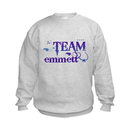 Team Emmett Kids Sweatshirt