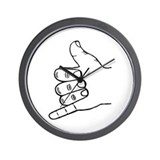 Shaka Hang Loose Wall Clock