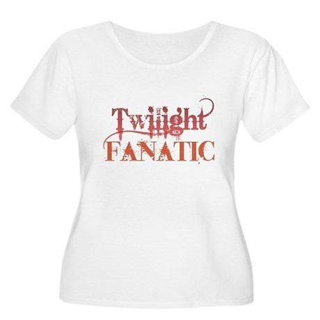 Twilight Fanatic Women's Plus Size Scoop Neck T-Sh