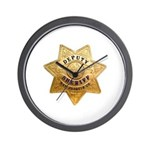 San Joaquin Sheriff Wall Clock