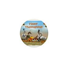 Cute Funny ducks Mini Button