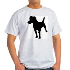 Patterdale Terrier Ash Grey T-Shirt