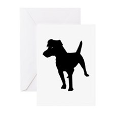 Patterdale Terrier Greeting Cards (Pk of 10)