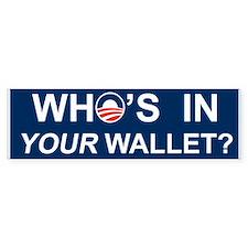 Wallet Bumper Sticker