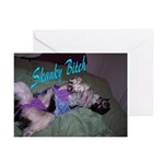 Skanky Bitch Greeting Cards (Pk of 10)