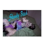 Skanky Bitch Postcards (Package of 8)