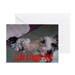 Doggie Style Greeting Card