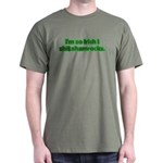 So Irish I Shit Shamrocks Dark T-Shirt