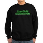 So Irish I Shit Shamrocks Sweatshirt (dark)