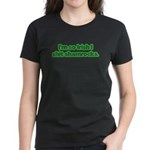 So Irish I Shit Shamrocks Women's Dark T-Shirt