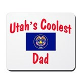 Coolest Utah Dad Mousepad