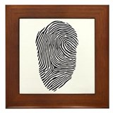 Fingerprint Framed Tile