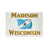 Madison, Wisconsin Rectangle Magnet (10 pack)