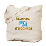 Madison, Wisconsin Tote Bag
