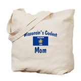 Coolest Wisconsin Mom Tote Bag