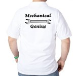 Mechanical Genius Golf Shirt