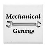 Mechanical Genius Tile Coaster