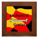 Mechanical Genius Framed Tile