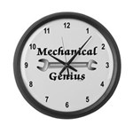 Mechanical Genius Large Wall Clock