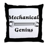 Mechanical Genius Throw Pillow
