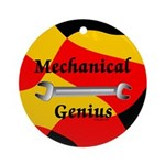 Mechanical Genius Ornament (Round)