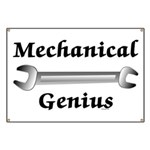 Mechanical Genius Banner