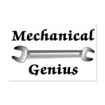 Mechanical Genius Mini Poster Print