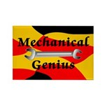 Mechanical Genius Rectangle Magnet (100 pack)