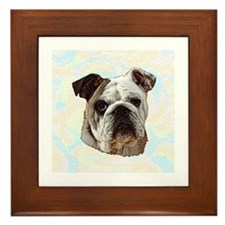 Bulldog Framed Tile