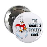 "Coolest Cook 2.25"" Button (10 pack)"