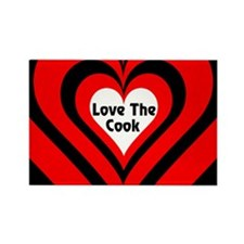 Love The Cook Rectangle Magnet