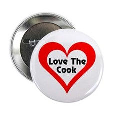 """Love The Cook 2.25"""" Button (10 pack)"""