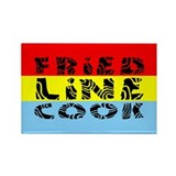 Fried Line Cook Rectangle Magnet (100 pack)