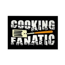 Cooking Fanatic Rectangle Magnet (100 pack)