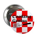 "Cooking Genius 2.25"" Button (10 pack)"