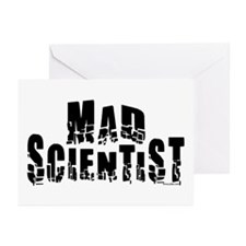 Mad Scientist Greeting Cards (Pk of 10)