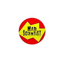 Mad Scientist Mini Button (100 pack)