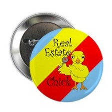 "Real Estate Chick 2.25"" Button (100 pack)"
