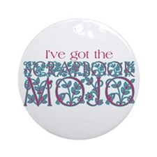 Scrapbook Mojo Ornament (Round)