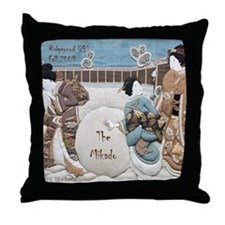 MIKADO Ridgewood G&S snow Throw Pillow